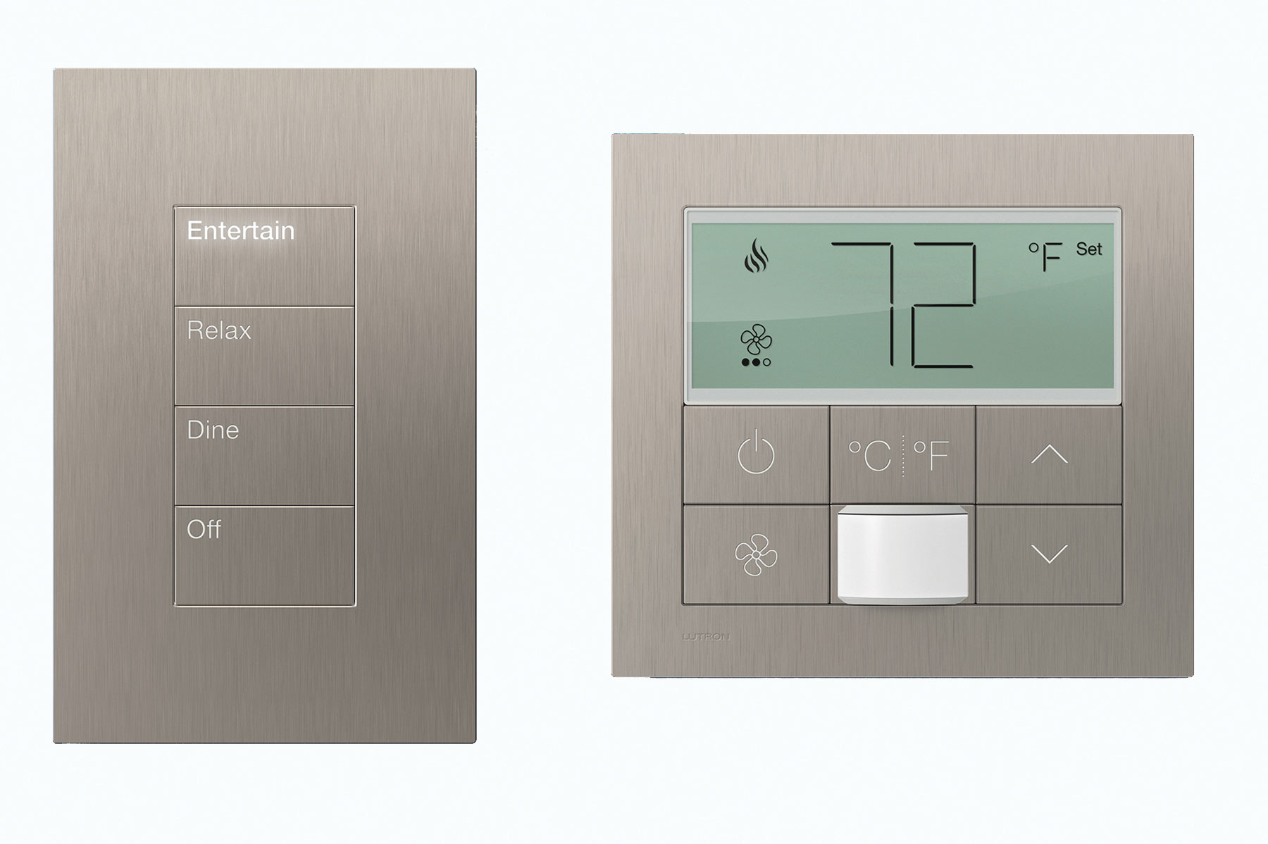 Lutron MyRoom Solution With Palladiom Keypad